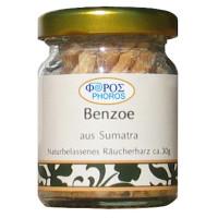 Benzoe Harz aus Sumatra naturbelassen - Phoros Räucherharz