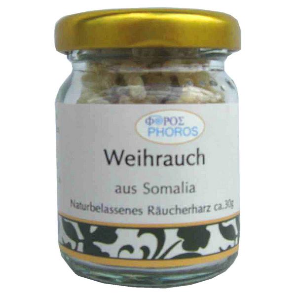 Weihrauch aus Somalia - Phoros Räucherharz