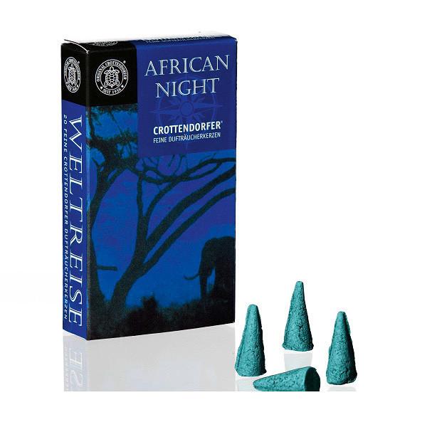 African Night - Weltreise, Original Crottendorfer Räucherkerzen