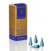 Blue Velvet - Sensual Magic, Original Crottendorfer Räucherkerzen