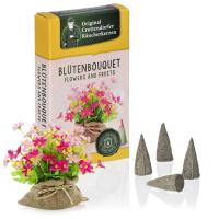 Blütenbouquet - Flowers & Fruit, Original Crottendorfer Räucherkerzen
