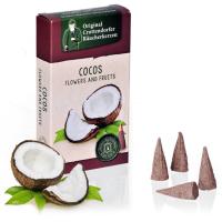 Cocos - Flowers & Fruit, Original Crottendorfer Räucherkerzen