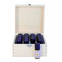Holzbox für 20 ätherische Öle (5/10ml)