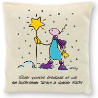 OUPS Duftkissen - Jeder positive Gedanke ist wie ein leuchtender Stern in dunkler Nacht