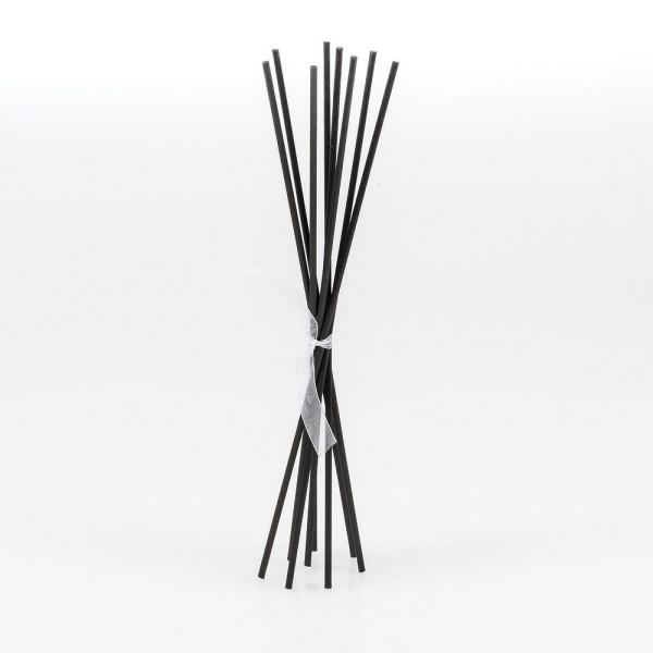 Raumduftstäbchen,Kunststoffstäbchen 8 Stk. L 25 cm, schwarz