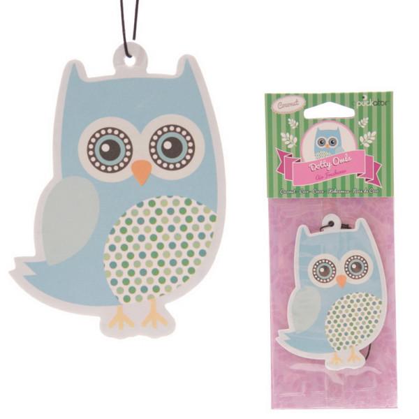 Lufterfrischer Kokosnuss Dotty Owls