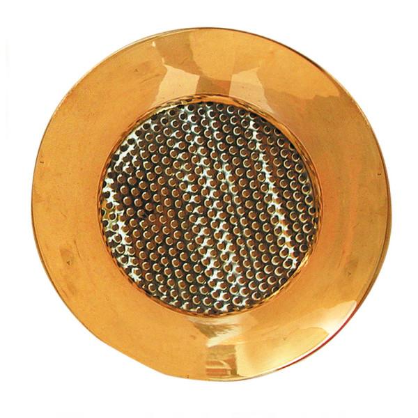 Messing-Räuchersieb Ø ca. 9 cm