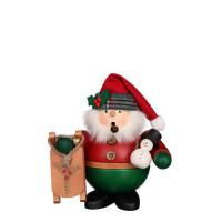 Christian Ulbricht Räuchermann Weihnachtsmann mit Schlitten