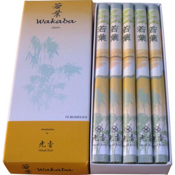 WAKABA - Junge Blätter, Hikali Koh Classic-Räucherstäbchen