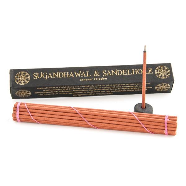 Sugandhawal & Sandelholz Tibetische Räucherstäbchen