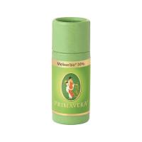 Melisse* bio 30% 1 ml Primavera Ätherisches Öl