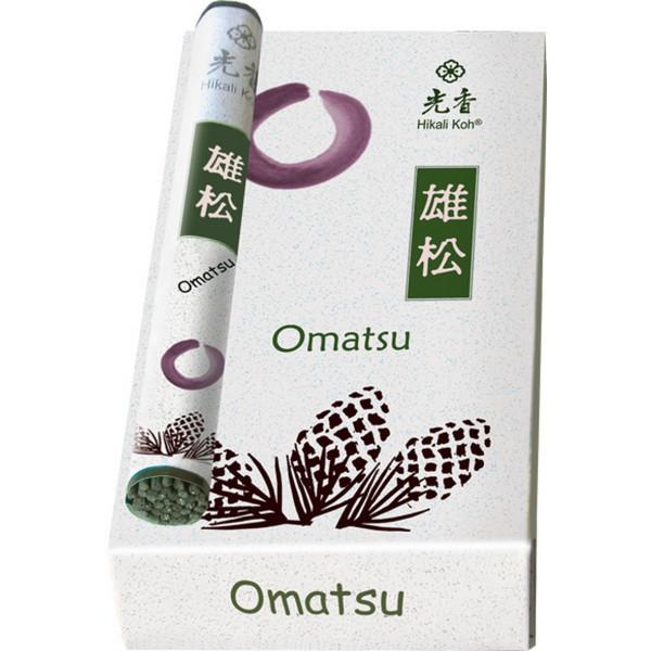 OMATSU - Duftender Kiefernhain, Hikali Koh Japanischer Garten Räucherstäbchen