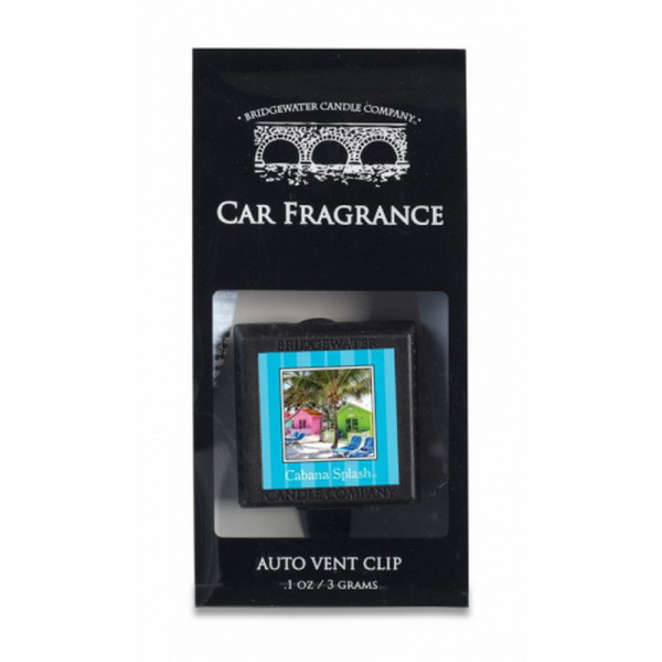 Cabana Splash - Bridgewater Car Freshener, Autolufterfrischer