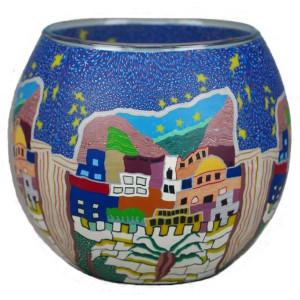Oriental - Windlicht Glas 11 x 11 x 9 cm