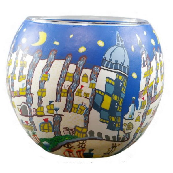 Dreamhouse - Windlicht Glas 11 x 11 x 9 cm