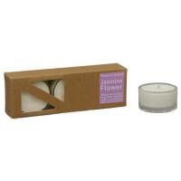 Jasmin Flower - Heaven Scent Teelichter in Glashüllen, 2. Wahl