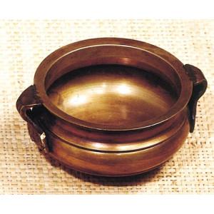 Messingschale, Räucherschale massiv (9 cm)