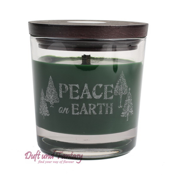 Peace on earth - WoodWick® Duftkerze Weihnachtliche Duftkomposition