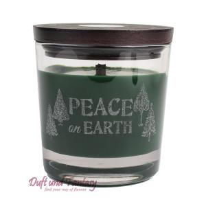 Peace on earth - WoodWick® Duftkerze Weihnachtliche...