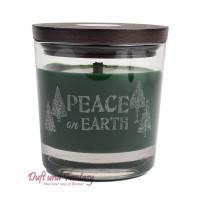 Peace on earth - WoodWick® Duftkerze Weihnachtliche Duftkomposition