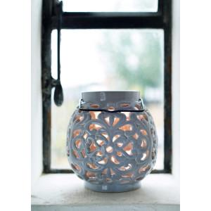 Keramik Duftlampe Weiß, Long Island Living