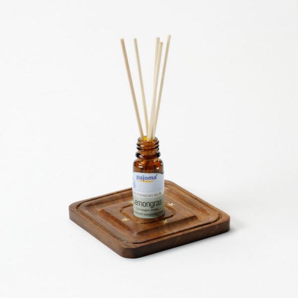 Halter für 10 ml Duftöl-Fläschchen aus Holz, eckig
