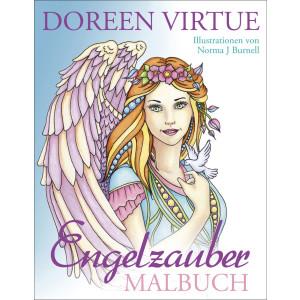 Virtue, Doreen Engelzauber Malbuch