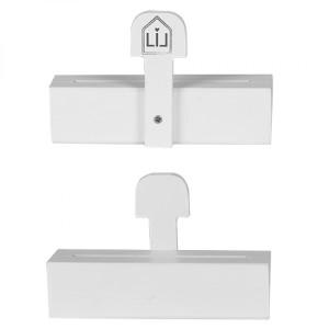 Duft-Sachet Ständer Holz Weiß