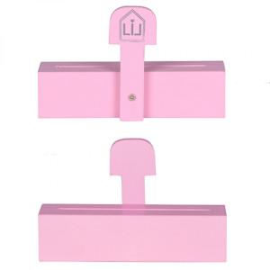 Duft-Sachet Ständer Holz Pink