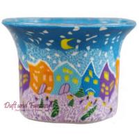 Winternight - Teelichtglas klein 6,5 x 6,5 x 7 cm