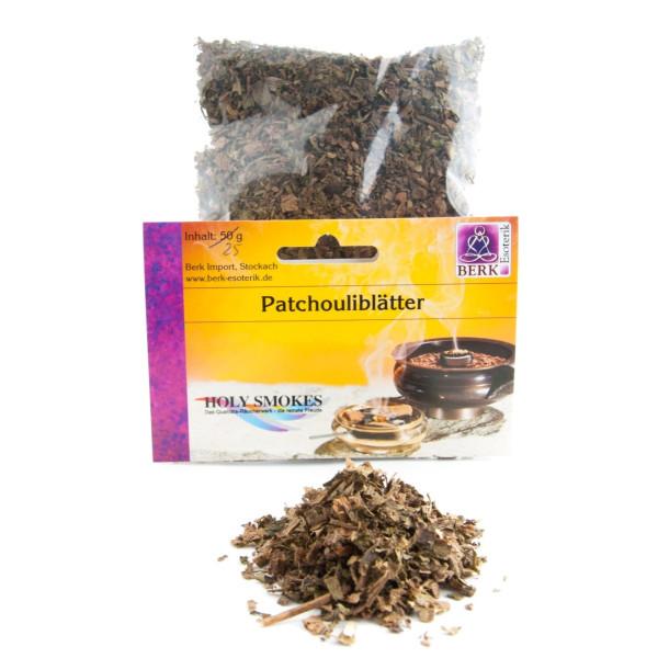 Patchouliblätter - Räucherwerk in Tüten 25 g