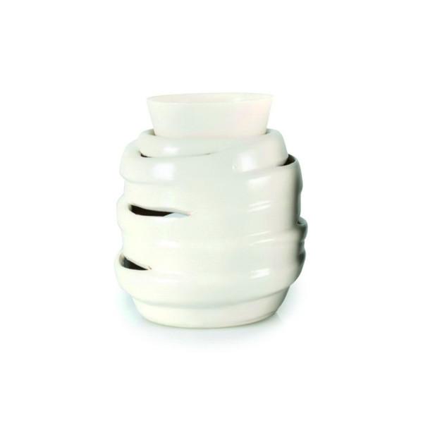 Pajoma Keramik-Duftlampe Weiß