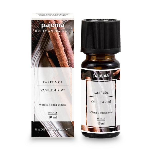 Vanille & Zimt - Pajoma Modern Line 10 ml, feinste Parfümöle