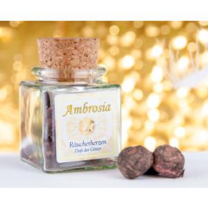 Ambrosia Räucherherzen Inhalt 12 Stück