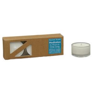 Meditation - Heaven Scent Teelichter in Glashüllen,...