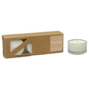 Vanilla - Heaven Scent Teelichter in Glashüllen, 2....