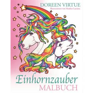 Virtue, Doreen Einhornzauber Malbuch