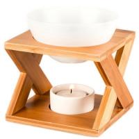 Pajoma Duftlampe, Keramik/Bambus groß