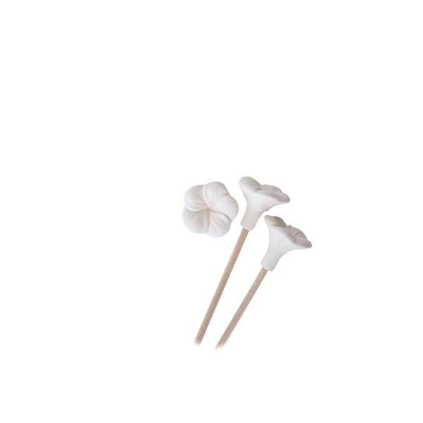 Keramikblüten für Duft-Stäbchen