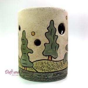 Aromalampe Mischwald 13 cm, Seyko-Keramik