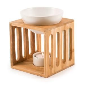Wellness - Pajoma Bambus/Keramik Duftlampe Gr. M