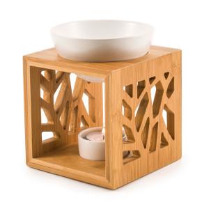 "Pajoma Duftlampe""Pattern"", Keramik/Bambus"