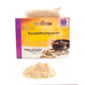 Sandelholzpulver Räucherwerk in Tüten 20 g,