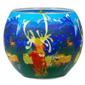 Elk - Windlicht Glas 11 x 11 x 9 cm