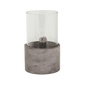 Cement Oil Burner with Glass Large