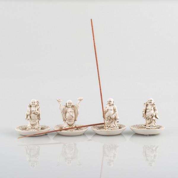 """Räucherstäbchenhalter """"Buddha"""", 4 Modelle zur Auswahl"""