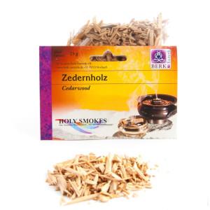 Zedernholz Räucherwerk in Tüten 25 g,