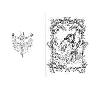 Briar Fantasy-Kunst Malbuch