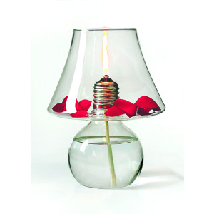 Öllampe LuxLight aus Borosilikatglas von Opossum design