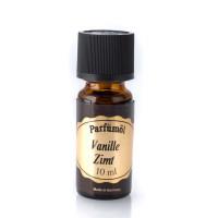 Vanille & Zimt - 10 ml. Parfümöl, Duftöl mit Goldetikett